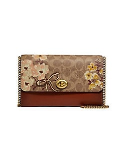 82c5f7abd Marlow Floral Crossbody Bag BRASS. QUICK VIEW. Product image