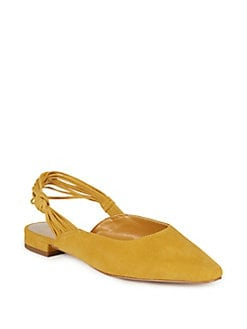 45ec73d56b QUICK VIEW. Lord & Taylor. Strappy Suede Slingback Flats