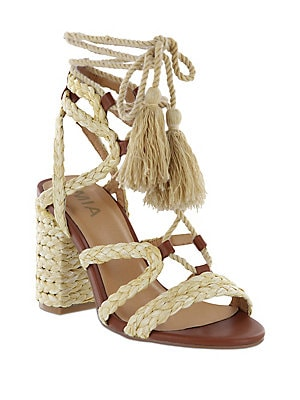 c2092c7c3f Mia - Greta Leather Ankle Strap Clogs - lordandtaylor.com