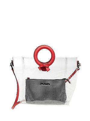 ce5bc46809 Betsey Johnson - Clear Cut Choice Crossbody Bag