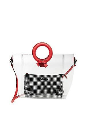 Betsey Johnson - Clear Cut Choice Crossbody Bag 96b6de4941129
