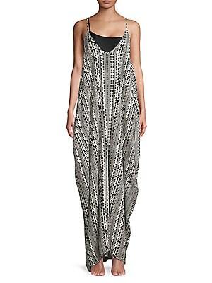 63bd087835 Elan - Striped Halter Maxi Dress - lordandtaylor.com