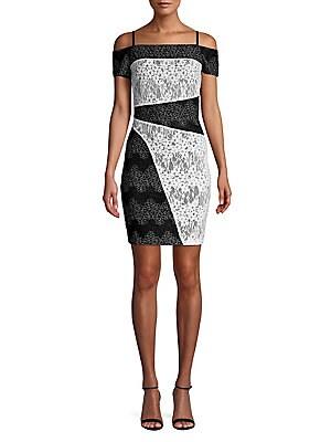 c7a8700c MICHAEL Michael Kors - Cold-Shoulder Bodycon Dress - lordandtaylor.com