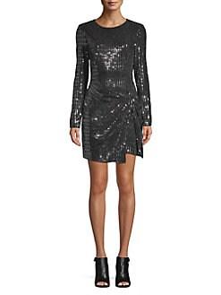 Platinum Lace Cocktail Dresses