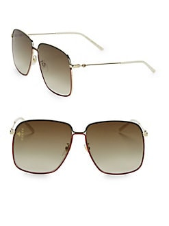 c9848dccf0b QUICK VIEW. Gucci. 62MM Square Sunglasses