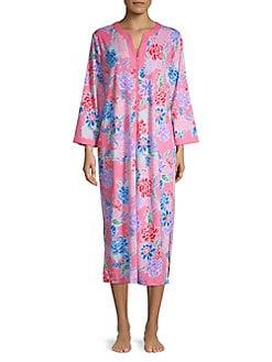 ed3b4ecf13 QUICK VIEW. Miss Elaine. Floral-Print ...