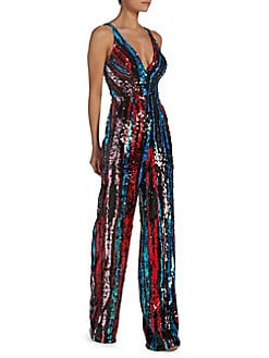 950a1354b55a QUICK VIEW. Dress The Population. Embellished Sleeveless Jumpsuit