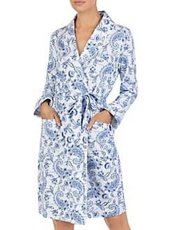 Product image. QUICK VIEW. Lauren Ralph Lauren. Paisley Wrap Robe 8558f1999