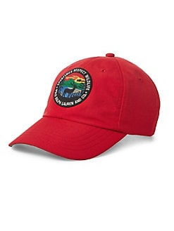 de177ba7a1a Great Outdoors Sportsman s Baseball Cap RED. QUICK VIEW. Product image.  QUICK VIEW. Polo Ralph Lauren