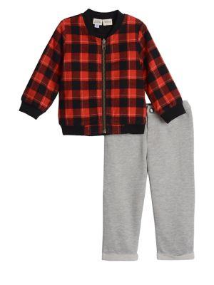 Baby Girls Disney TwoPiece Cotton Reversible Bomber Jacket  Pants Set