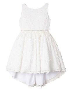 bb06356ee0 Product image. QUICK VIEW. Badgley Mischka. Little Girl s 3D Flower  High-Low Dress