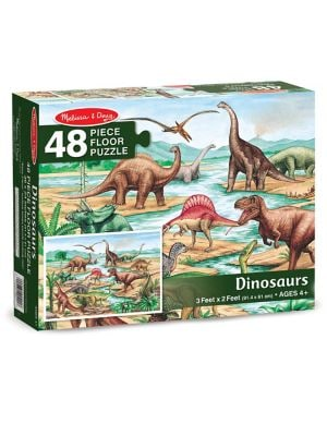 48Piece Dinosaurs Floor Puzzle Set