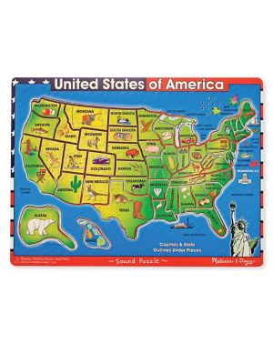 40Piece USA Sound Puzzle Set