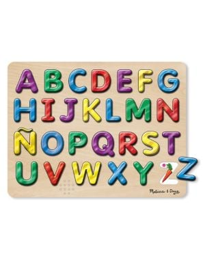 27Piece Spanish Alphabet Sound Puzzle Set