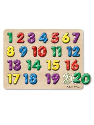 20Piece Spanish Numbers Sound Puzzle Set