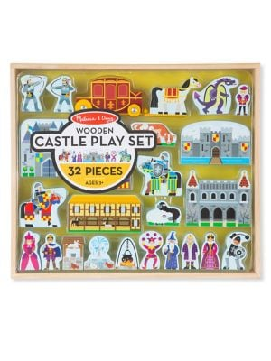 Wooden Castle Playset