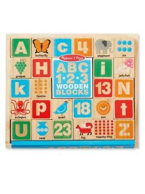 ABC123 Wooden Blocks