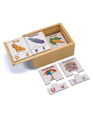 Alphabet Puzzle Card Set