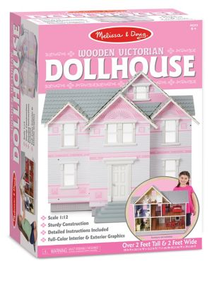 Victorian Wooden Dollhouse