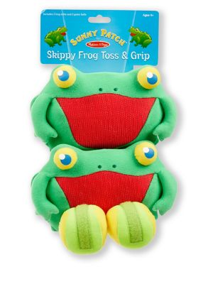 Skippy Frog Toss  Grip Game Set