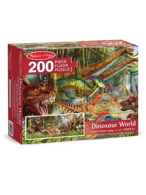 200Piece Dinosaur World Floor Puzzle Set
