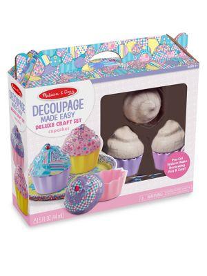 Cupcake Decoupage Deluxe Craft Set