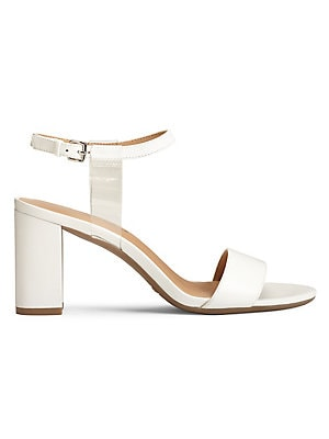 38c57e5fb68e Aerosoles - Hit The Road Leather Ankle-Strap Sandals - lordandtaylor.com