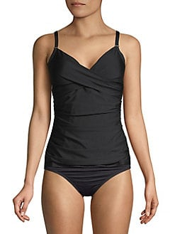 84e0835aca533 QUICK VIEW. Calvin Klein. Twist Tankini Swim Top