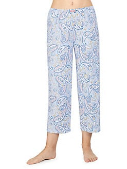9f72a16f17 Product image. QUICK VIEW. Ellen Tracy. Printed Cropped Pajama Pants