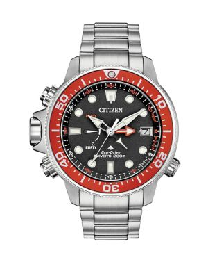 Image of Promaster Aqualand Stainless Steel Diver Watch