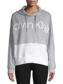 bd42a21697 QUICK VIEW. Calvin Klein Performance. Logo Colorblock Hoodie