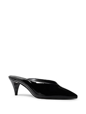 8e9fff10c920 MICHAEL Michael Kors - Cambria Patent Leather Heeled Mules -  lordandtaylor.com