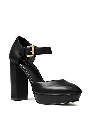90dd4e400827 MICHAEL Michael Kors - Sierra Leather Platform Heels - lordandtaylor.com