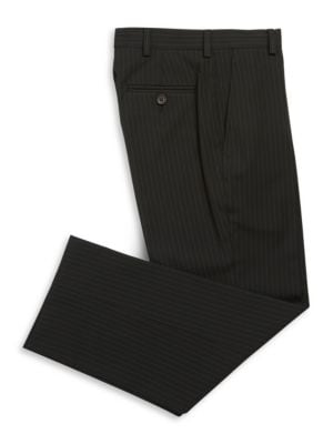 Boy's Striped Dress Pants...