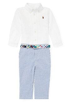 b6755c6e4 Product image. QUICK VIEW. Ralph Lauren Childrenswear. Baby Boy's  Three-Piece ...