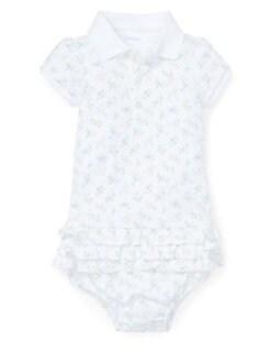 2e2e69bac Baby Girl's Printed Cotton Dress WHITE MULTI. QUICK VIEW. Product image