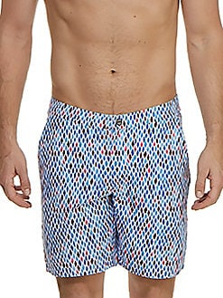 84f69f1cf9 Product image. QUICK VIEW. JACHS. Diamond Mosaic Swim Trunks