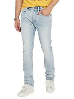 88771713 QUICK VIEW. BUFFALO David Bitton. Ash x Light Slim-Fit Mid-Rise Jeans