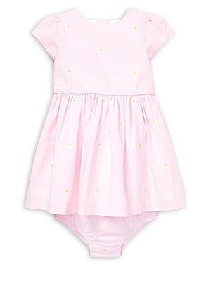 43a6f60f Ralph Lauren Childrenswear - Baby Girl's Schiffli Cotton Dress & Bloomers  Set