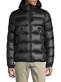 0d9c9ea9695 Hooded Down Puffer Jacket BLACK. QUICK VIEW. Product image