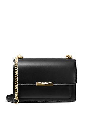 6fb1afc0d882 MICHAEL Michael Kors - Large Jade Leather Gusset Shoulder Bag -  lordandtaylor.com