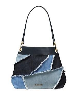 392761feff107 MICHAEL Michael Kors - Large Isla Grab Denim Shoulder Bag ...