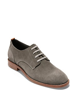 b84fcd76698 Cole Haan - FeatherCraft Suede Oxfords