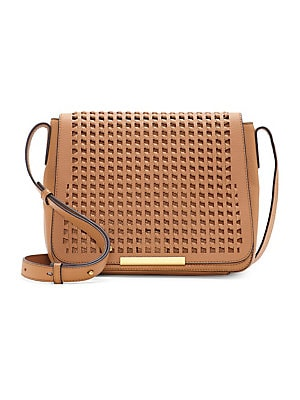 a29bb2285910 Vince Camuto - Hope Flap Leather Crossbody Bag - lordandtaylor.com