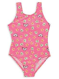 bb5d7d4ce0 QUICK VIEW. Flapdoodles. Little Girl's One-Piece Summer Fun Swimsuit