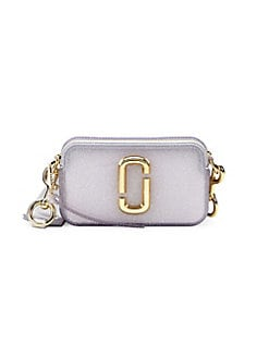 8f7fff761cae QUICK VIEW. Marc Jacobs. The Jelly Glitter Coated Leather Snapshot Bag