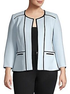 e3a24dac36f Plus Size Suits  Skirt Suits   More