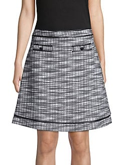 7aacfe3a405 QUICK VIEW. Karl Lagerfeld Paris. Classic Patterned Skirt