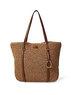 QUICK VIEW. Lauren Ralph Lauren. Large Crochet Tote b26301c447
