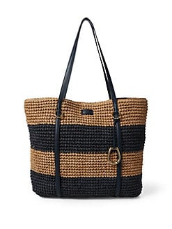 QUICK VIEW. Lauren Ralph Lauren. Crocheted Large Tote ad075bfcb8
